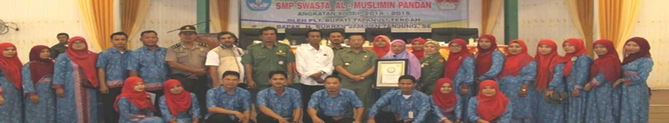 SMP Swasta Al Muslimin Pandan